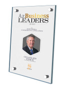 Az Business Leaders 2019 Acrylic Stand-off Wall Plaque with Photo Style D