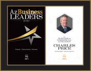 Az Business Leaders 2019 Black wood with gold trim Style A Double Plaque with photo