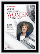 "AZ Business  magazine 2019 Most Influential Women Frame Plaque Style A - Black with Silver Trim with photo Size is 11"" x 15.75"" Please state the name of Most Influential Women in the Comment Box at check-out"