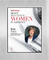 """AZ Business magazine 2018 Most Influential Women Acrylic Brushed Silver Stand-Off Wall Plaque Style D with photo Size is 11"""" x 16.5"""" Please state the name of Most Influential Women in the Comment Box at check-out"""