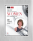 """AZRE magazine 2018 Most Influential Women Acrylic Brushed Silver Stand-Off Wall Plaque Style D with photo Size is 11"""" x 16.5"""" Please state the name of Most Influential Women in the Comment Box at check-out"""
