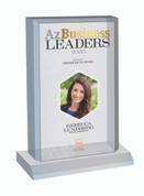 Az Business Leaders 2020 Acrylic Desk-Top Plaque - Style C with photo