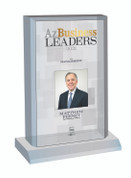 Az Business Leaders 2021 Acrylic Desk-Top Plaque - Style C with photo