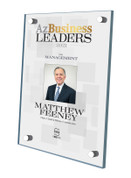 Az Business Leaders 2021 Acrylic Stand-off Plaque - Style D with photo