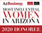"""Most Influential Women 2020 Honoree Digital Emblem  (The Digital Emblem you receive will be personalized so it will be unique to your company) This emblem is 72 dpi and the image is 3"""" X 3.3"""".  This emblem is for screen resolution only.  It is not print-ready."""