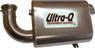 Skinz Polished Ceramic Ultra-Q Silencer 2009 SkiDoo MX-Z Renegade X 600 HO E-TEC