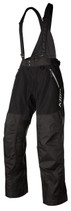 Mens  - Black - Klim Havoc Non-Insulated Outerwear Bib Pants