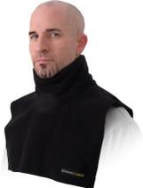 Black - Schampa Fleece Short Neck Dickies Neck Warmer