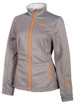 Womens  - Grey - Klim Whistler Mid Layer Jacket