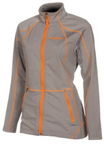 Womens  - Grey - Klim Sundance Mid Layer Jacket