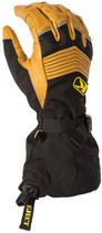 Mens  - Brown/Black - Klim Summit Gore-Tex Gloves