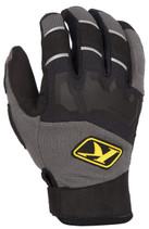 Mens  - Grey/Black - Klim Dakar  Gloves