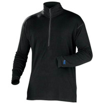 Minus 33 Mens Mid-Weight 1/4 Zip Top Base-Layer