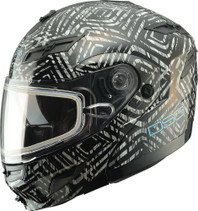 Divas Snow Gear GM54S Modular Aztec Dual Lens Snowmobile Helmet