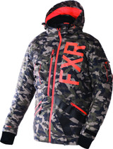 FXR Maverick Non-Insulated Shell w/ Insulated Removable Liner Jacket 2017