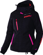 FXR Womens Vertical Pro Uninsulated Shell w/ Insulated Liner Jacket 2017