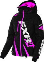FXR Womens Boost Uninsulated Shell w/ Insulated Liner Jacket 2017