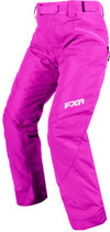 FXR Womens Fresh Insulated Pants 2017