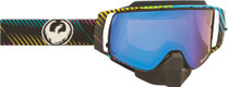 Black/Blue/Red - Dragon NFX2 Blur Frameless Snowmobile Goggles