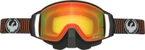 Black/Orange - Dragon NFX2 Vibrate Frameless Snowmobile Goggles
