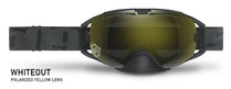 Polarized Yellow Lens - Black Frame - 509 Revolver Whiteout Goggles