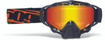 Fire Mirror/Rose Tint Lens - Black Frame - 509 Sinister X5 Orange Camo Goggles