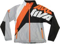 Black/Grey/Orange - Arctiva Soft Shell  Jacket