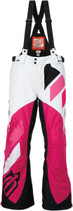 WoWhite/Pink - Arctiva Comp Insulated Bibs