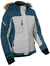 Womens  - Bay Blue/Grey - CastleX Tempest Back Country Series Jacket