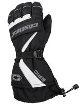 Mens  - White/Black - CastleX Epic  Gloves