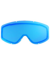 Adult  - Mirror Blue - CastleX Force & Force SE  Replacement Dual Lens