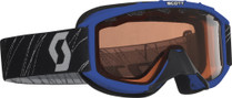 Youth - Blue - Scott 89 Si Snowmobile Goggles