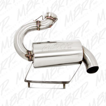 MBRP Stainless Steel Snowmobile Standard Silencer For 2006-2011 Arctic Cat M6