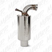 MBRP Stainless Steel Snowmobile Standard Silencer For 2004-2008 Ski-Doo Summit