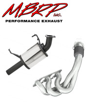 MBRP Polished Stainless Steel Header & Trail Silencer 2014-16 Yamaha SRViper STX