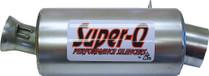 Skinz Polished Ceramic Super-Q Silencer For 2012-2014 Arctic Cat M800 Sno Pro