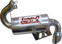 Skinz Polished Ceramic Super-Q Silencer 2008-16 Polaris Indy 600 High Output IQ