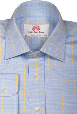 Prince of wales sky yellow(Regular Fit)