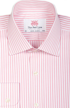 Pink Bengal Stripe (Regular fit)