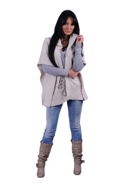 Flared out Knit Vest