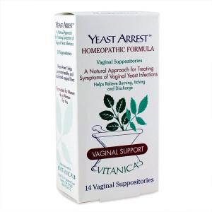 Natural Approach for Treating Symptoms of Vaginal Yeast Infections. Relieves Burning, Itching and Discharge.