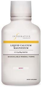 Liquid Calcium Magnesium - Berry (16 oz.) REFRIGERATE AFTER OPENING  **