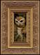 Dragon Owl framed