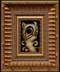 Dancing Cat framed