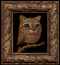 CatBird 02 framed