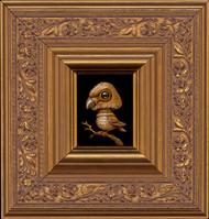 Shroombird 010 framed