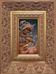 Birth of Unicorn framed