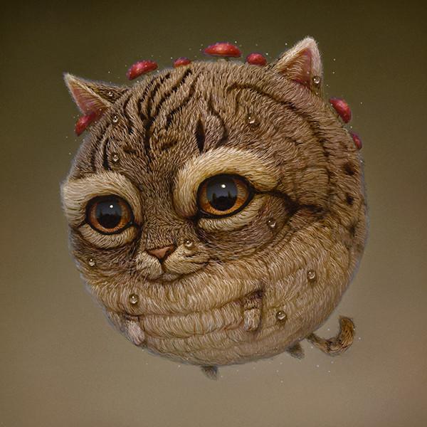Balloon Cat 05