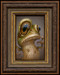 Frog 03 framed