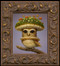 Fungus Owl framed